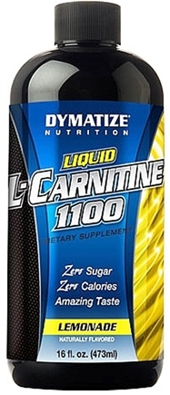 DROPPED: Dymatize Nutrition - Liquid L-Carnitine Lemonade 1100 mg. - 16 oz. CLEARANCE PRICED