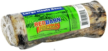 DROPPED: Redbarn - Natural Meaty Bone Large Dog Chew - 6 in. CLEARANCE PRICED