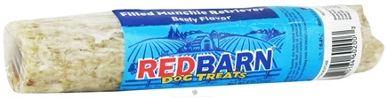 DROPPED: Redbarn - Filled Rawhide Munchie Retriever Dog Treat Beefy Flavor - 3 oz. CLEARANCE PRICED