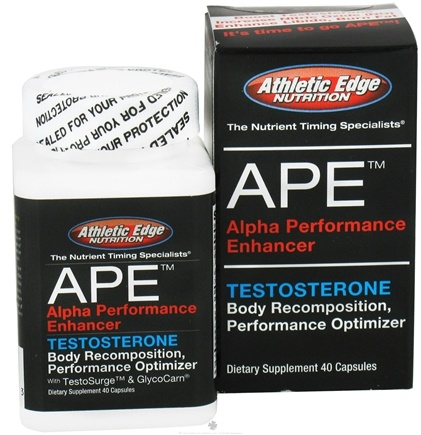 Zoom View - APE Alpha Performance Enhancer Testosterone Optimizer
