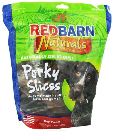 DROPPED: Redbarn - Porky Slices Dog Chews - 1.5 lbs. CLEARANCE PRICED