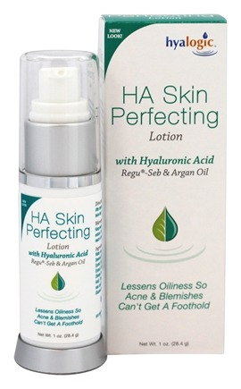 DROPPED: Hyalogic - HA Skin Perfecting Lotion with Hyaluronic Acid, Regu-Seb & Argan Oil 28.4 g. - 1 oz.