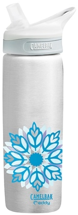DROPPED: CamelBak - Eddy Stainless Steel Water Bottle BPA Free Floral - 0.7 Liter(s) CLEARANCE PRICED