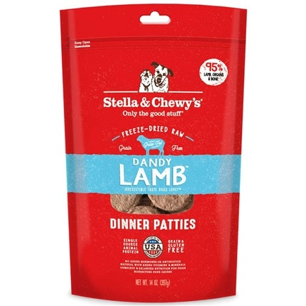 Stella & Chewy's - Freeze-Dried Dog Food Dandy Lamb Dinner - 15 oz.