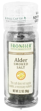 Zoom View - Gourmet Salt Grinder Alder Smoked Salt