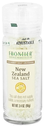 Zoom View - Gourmet Salt Grinder New Zealand Sea Salt