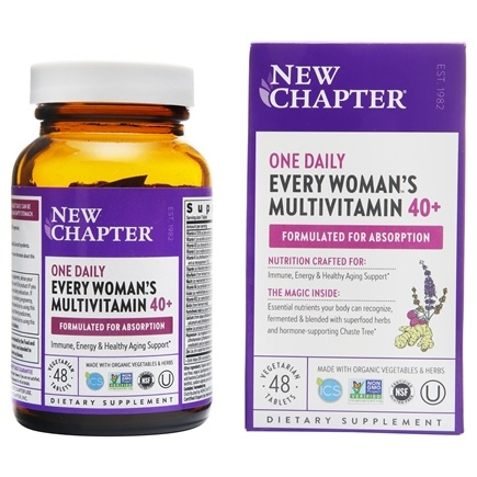 New Chapter - Every Woman's One Daily 40 Plus - 48 Tablets