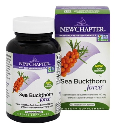 New Chapter - Sea Buckthorn Force - 60 Vegetarian Capsules