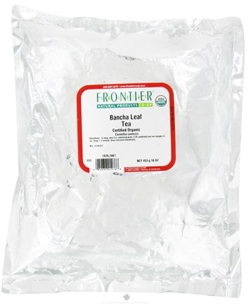 DROPPED: Frontier Natural Products - Bulk Bancha Tea Organic - 1 lb.