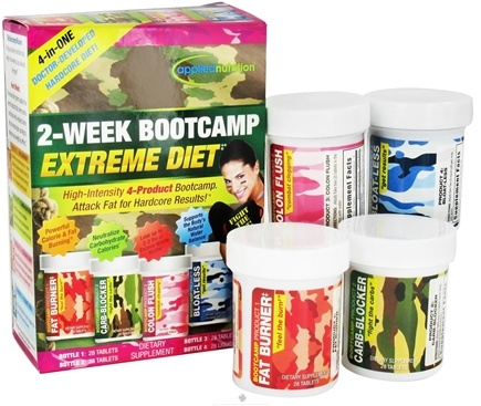 DROPPED: Applied Nutrition - 2-Week Bootcamp Extreme Diet - 1 Set(s)