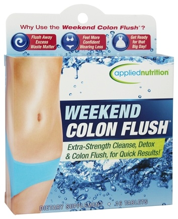 Applied Nutrition - Weekend Colon Flush - 16 Tablets