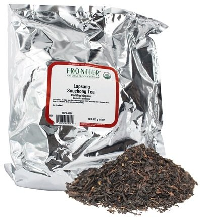 DROPPED: Frontier Natural Products - Bulk Lapsang Souchong Tea Organic - 1 lb.