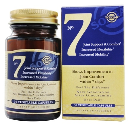 Solgar - No. 7 Joint Support - 30 Vegetarian Capsules