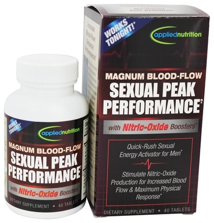 Applied Nutrition - Magnum Blood Flow Sexual Peak Performance - 40 Tablets