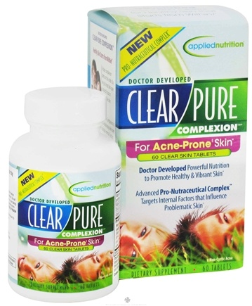 DROPPED: Applied Nutrition - Clear Pure Complexion - 60 Tablets