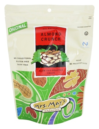 DROPPED: Mrs. May's Naturals - Slow Dry-Roasted Snack Almond Crunch - 5 oz.