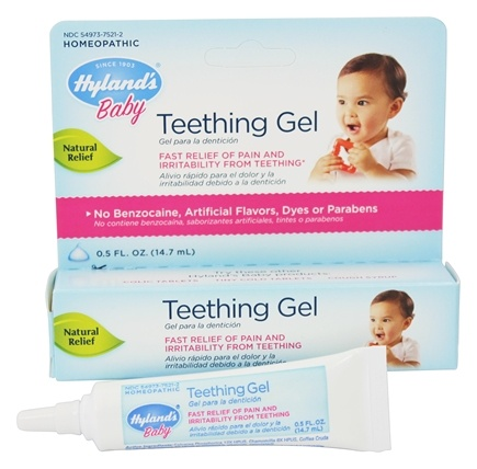 DROPPED: Hylands - Baby Teething Gel - 0.5 oz.