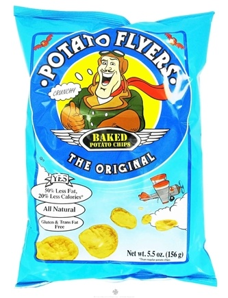 DROPPED: Pirate Brands - Potato Flyers Baked Potato Chips Original - 5.5 oz.