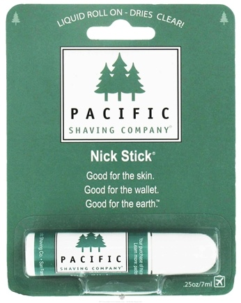DROPPED: Pacific Shaving Company - Liquid Roll On Nick Stick - 0.25 oz. CLEARANCE PRICED