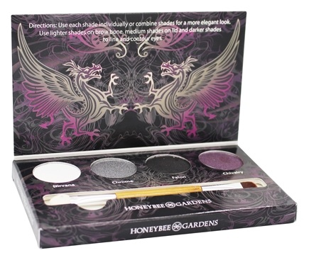DROPPED: Honeybee Gardens - Rock The Smokey Eye Shadow Palette - 1 Kit - CLEARANCE PRICED