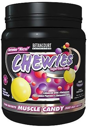 DROPPED: Betancourt Nutrition - Chewies Glutamine Micros Sugar-Free Insane Berry Blend - 525 Tablets CLEARANCE PRICED