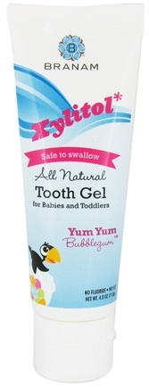 Zoom View - Xylitol Tooth Gel for Babies and Toddlers All Natural