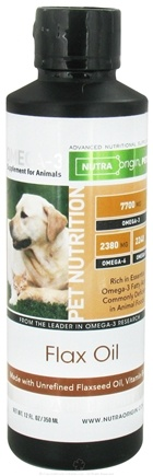 DROPPED: Nutra Origin - Omega-3 Fish Oil with Flax Oil For Pets - 12 oz.