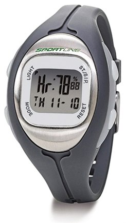 DROPPED: Sportline - Solo 915 Heart Rate + Calorie Monitor Watch Designed to fit Women Grey - 1 Monitor(s) CLEARANCE PRICED