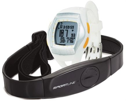 Zoom View - Duo 1060 Dual-Use Heart Rate Monitor Watch Designed For Women