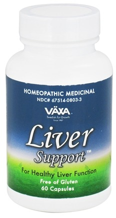 DROPPED: Vaxa - Liver Support - 60 Capsules CLEARANCE PRICED