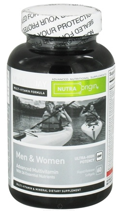 DROPPED: Nutra Origin - Multi Today Advanced Multivitamin for Men and Women Ultra-High Potency - 60 Softgels