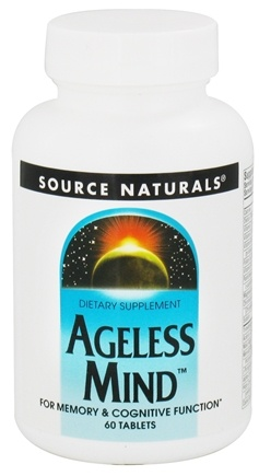 DROPPED: Source Naturals - Ageless Mind - 60 Tablets CLEARANCE PRICED