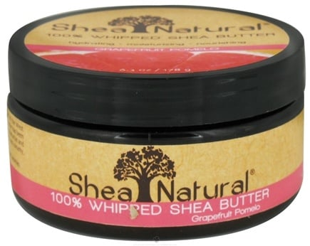 DROPPED: Shea Natural - 100% Whipped Shea Butter Grapefruit Pomelo - 6.3 oz. CLEARANCE PRICED