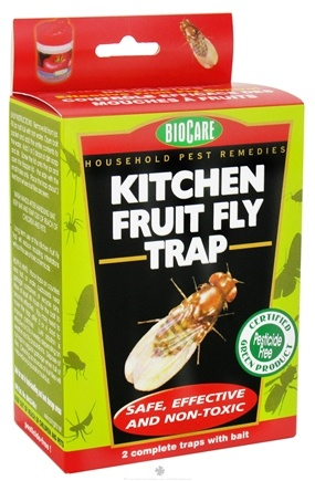 DROPPED: SpringStar - Biocare Kitchen Fruit Fly Trap - 2 Traps