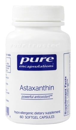 DROPPED: Pure Encapsulations - Astaxanthin - 60 Softgels