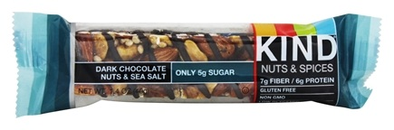 Kind Bar - Nuts & Spices Bar Dark Chocolate Nuts & Sea Salt - 1.4 oz.