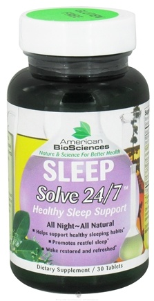 DROPPED: American BioSciences - Sleep Solve 24/7 - 30 Tablets CLEARANCE PRICED