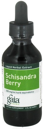 DROPPED: Gaia Herbs - Schisandra Berry - 2 oz. CLEARANCE PRICED