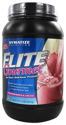 Zoom View - Elite Gourmet Protein Whey & Casein Blend Powder