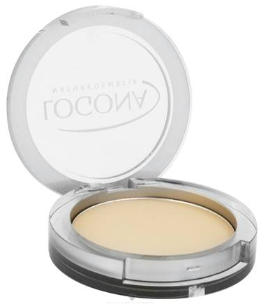 DROPPED: Logona - Pressed Face Powder 02 Medium Beige - 10 Grams CLEARANCE PRICED
