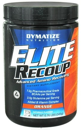 DROPPED: Dymatize Nutrition - Elite Recoup Advanced Amino Recovery - 30 Servings Orange - 0.76 lbs. CLEARANCE PRICED