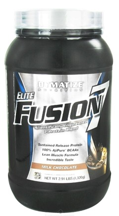 DROPPED: Dymatize Nutrition - Elite Fusion 7 Scientifically Engineered 7-Protein Blend Milk Chocolate - 2.91 lbs. CLEARANCE PRICED