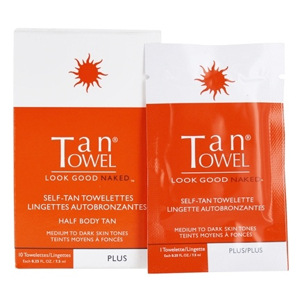 Zoom View - Half Body Application Plus Self-Tan for Medium to Dark Skin Tones