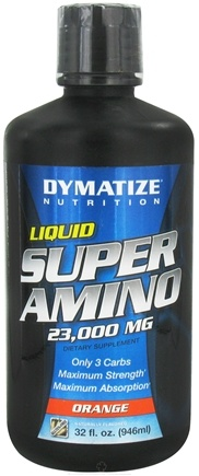 DROPPED: Dymatize Nutrition - Liquid Super Amino Orange 23000 mg. - 32 oz.