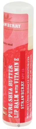 Zoom View - Pure Shea Butter Lip Balm with Vitamin E