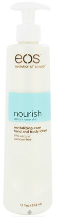 DROPPED: Eos Evolution of Smooth - Hand and Body Lotion Nourish Revitalizing Care - 12 oz.