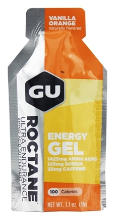 GU Energy - Roctane Ultra Endurance Energy Gel 2x Caffeine Vanilla Orange - 1.1 oz.