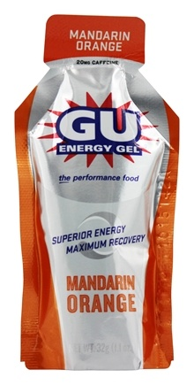 GU Energy - GU Energy Gel 20mg Caffeine Mandarin Orange - 1.1 oz.