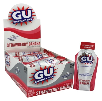 GU Energy - GU Energy Gel No Caffeine Strawberry Banana - 1.1 oz.