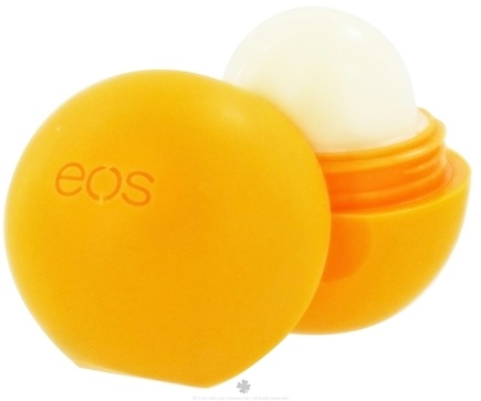 Eos Evolution of Smooth - Lip Balm Sphere Medicated Tangerine - 0.25 oz.